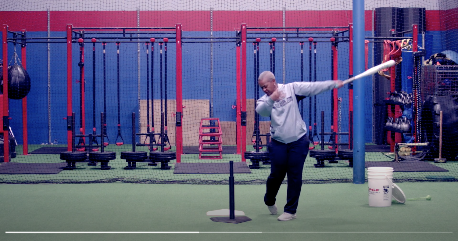 Mastering Your Lower Half - hitting drills